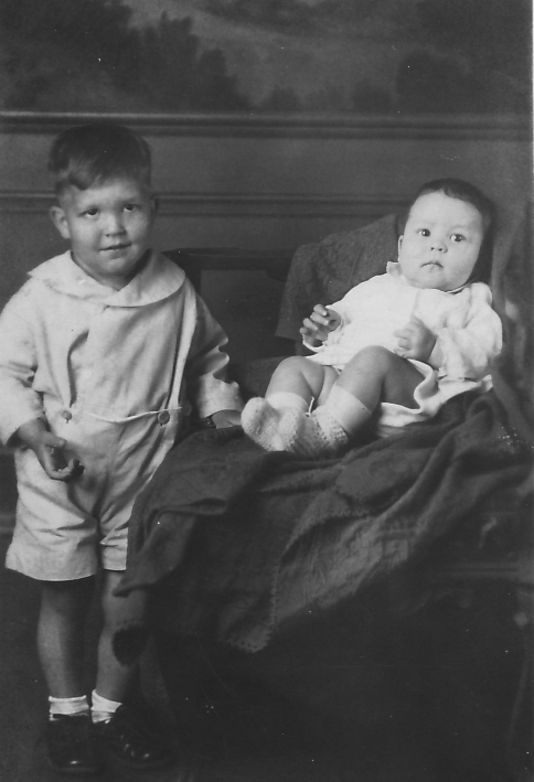 Baby James and Little Charles