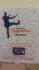 "A tribute to Charlie ""Tremendous"" Jones from the sales force at Southwestern."